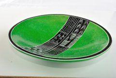Mísa (střední) zelená (foto č. 1919)