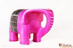 Moderní slon – velký růžový