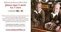 Jídlo pro 1 dítě na 1 den