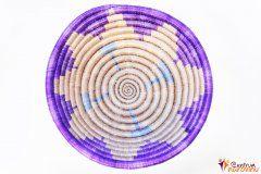 Mísa – provázek – malá fialová/natural/tyrkysová