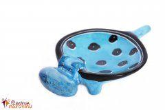 Miska hroch (menší) modrá
