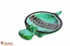 Miska hroch (menší) zelená