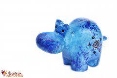 Soška hrocha modrá