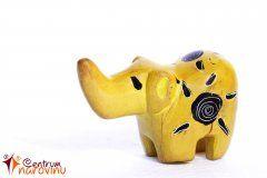 Soška slona žlutá