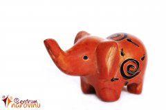 Soška slona oranžová