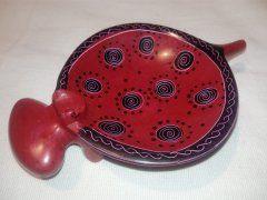 Miska hroch (větší) červená (spirála)